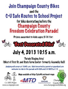 4th of July Parade Flyer 2013