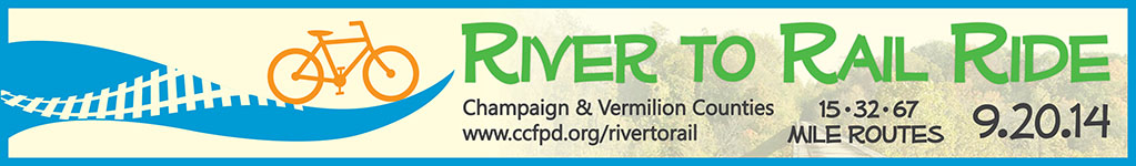 River to Rail Ride banner
